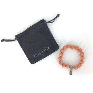 Silpada 'Confection' Beaded Stretch Bracelet
